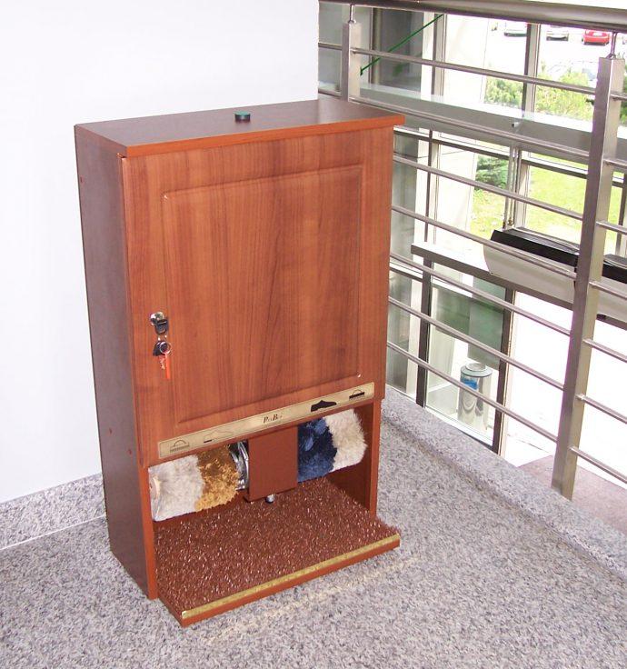 Ecostar - 🥇PUCYBUT urządzenia maszyny automaty do czyszczenia obuwia butów podeszw