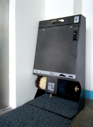 Moneybox - 🥇PUCYBUT urządzenia maszyny automaty do czyszczenia obuwia butów podeszw