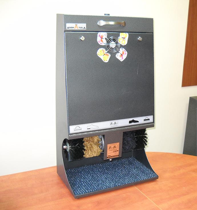 Aromapuc - 🥇PUCYBUT urządzenia maszyny automaty do czyszczenia obuwia butów podeszw